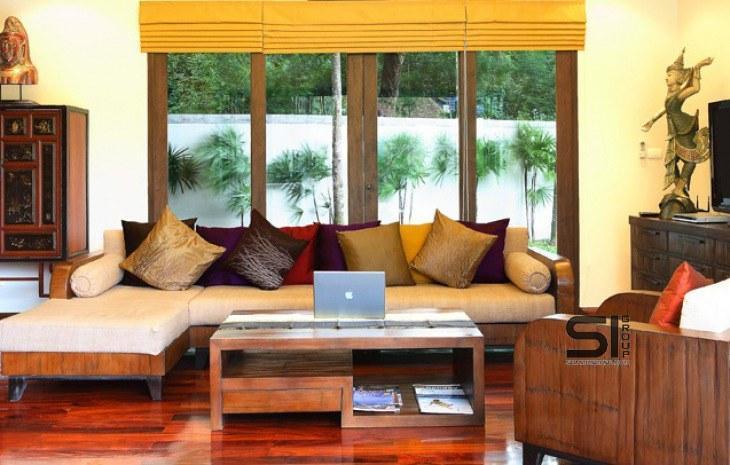 Аренда виллы с бассейном Villa Margarita Nai Harn в комплексе Nai Harn Baan Bua