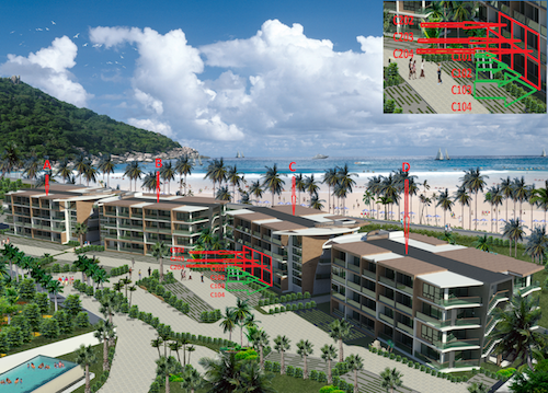 Apartments for sale on the beach of Knighton. Apartments for sale in Phuket