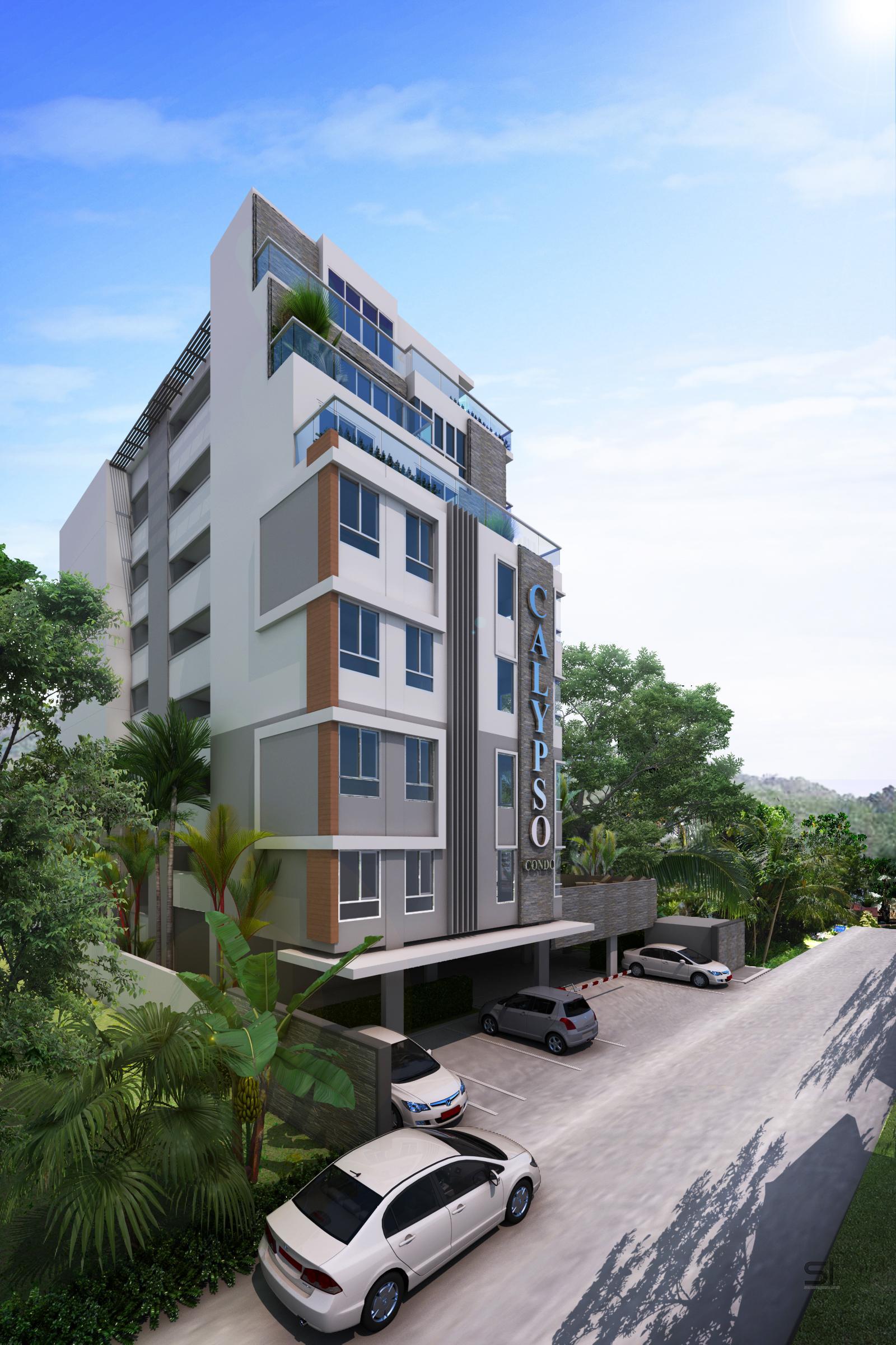 Apartamentos no KALYPSO complexo para Nai Harn