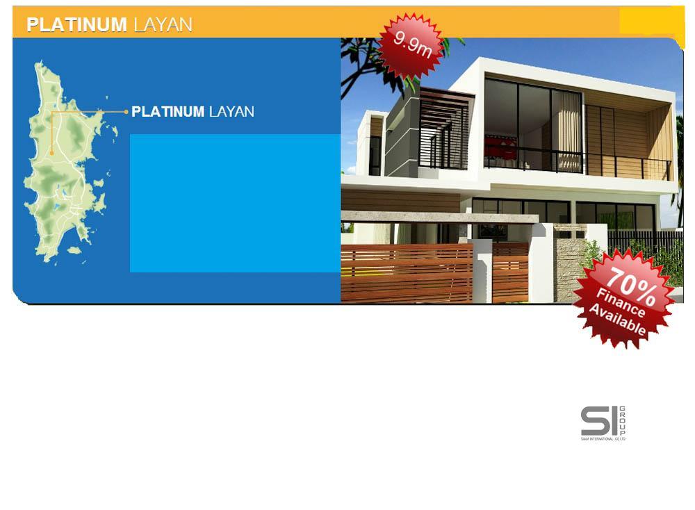 A vendre une nouvelle marque villa moderne P-Layan