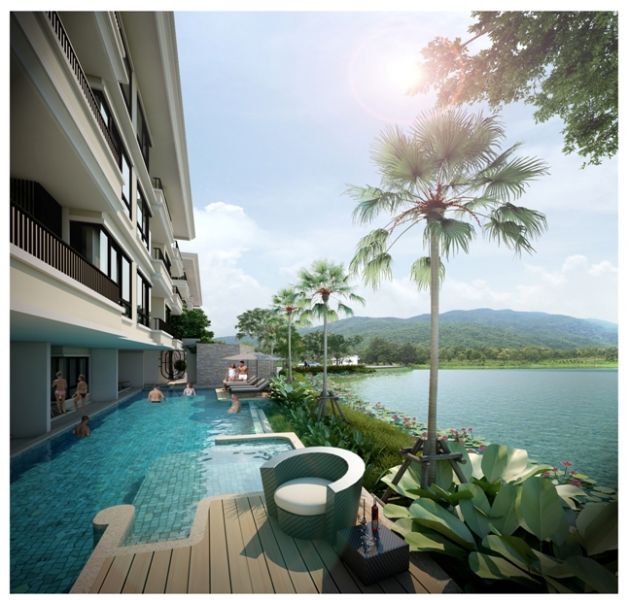 Rent an apartment in The Lago on Nai Harn