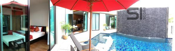 Rent a villa with a swimming pool in the residence Baan-Boondharik